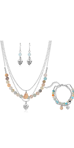layered necklaces for women