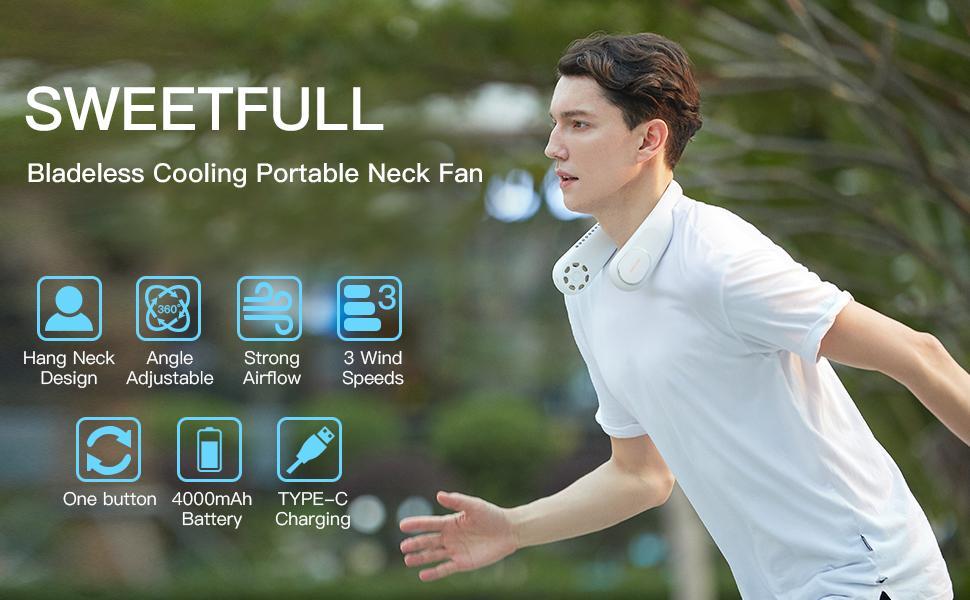 personal fan neck