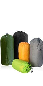 5 pack stuff sack