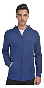 Men's Athletic Hoodie Fleece Lined Thermal Sweatshirt