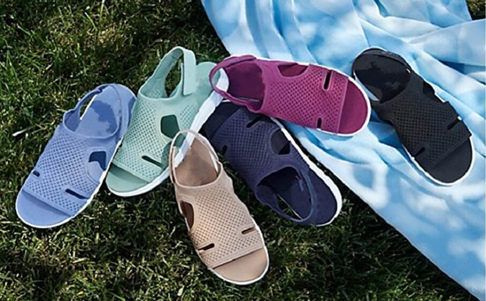Gogolot Women Summer Breathable Elastic Sandal
