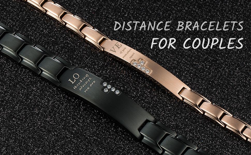 couple distance bracelets