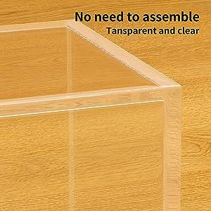 No Need to Assemble