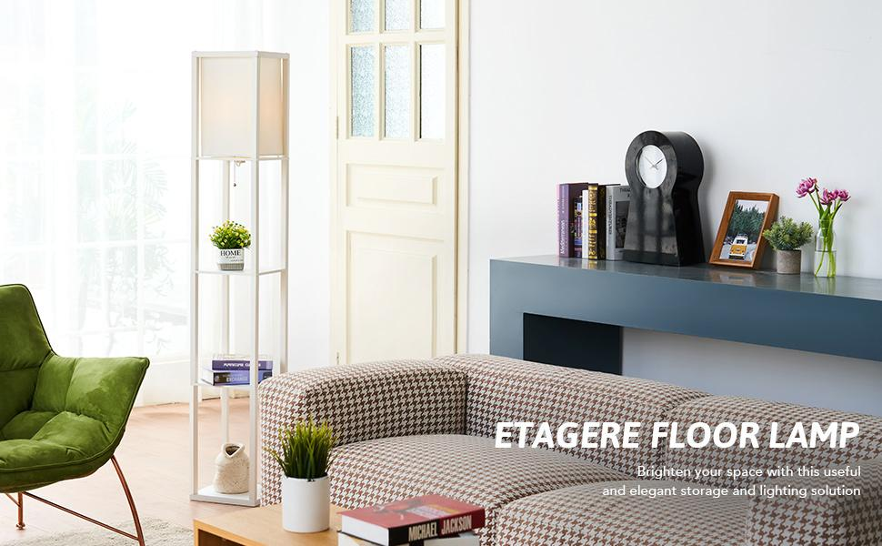 ETAGERE FLOOR LAMP