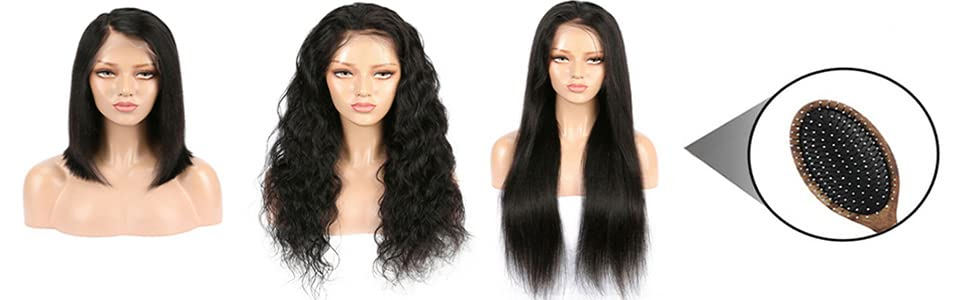 Ombre 1B 613 Straight Wig