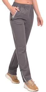 zipper ankle pants