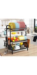 2 tier dish drying rack  Top quality 1easylife