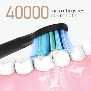 pulsonic slim elektrozahnbürste diamond clean smart happy brush easy elektrische zahnbürste