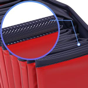 Non-slip PVC Wrapped edges,Durable and puncture resistant