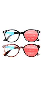 blue light reading glasses women