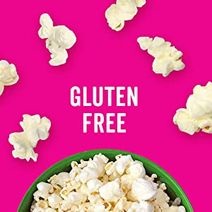 Angie's BOOMCHICKAPOP Popcorn is tasty and airy, a perfect gluten-free treat
