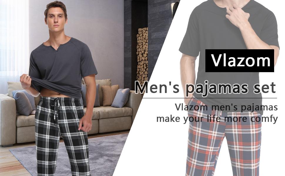 pijama men,pj for men set,pj men pj men set,pj mens sets soft,pj set man,pj set men