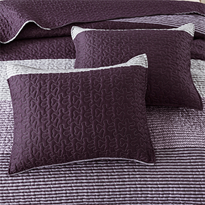 Striped Purple Gray-K