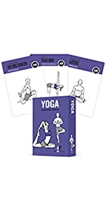 NewMe Fitness Yoga Pose Exercise Cards