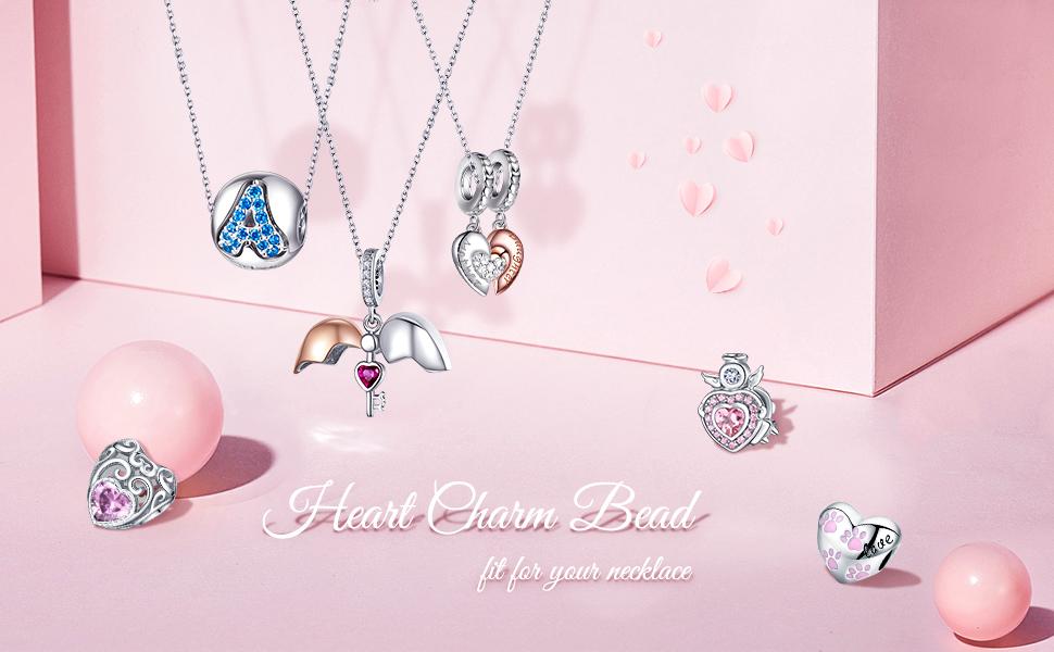 Sterling Silver Baby Charm Bracelet Three Angel Enamel Charms Dangle Gift USA