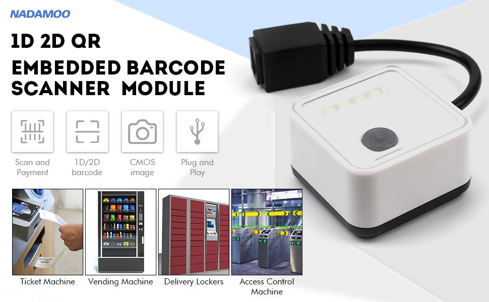 NADAMOO embedded barcode scanner module