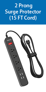 2 prong extension cord