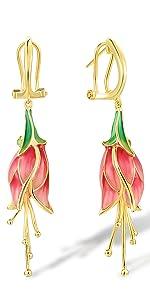 tulip earring