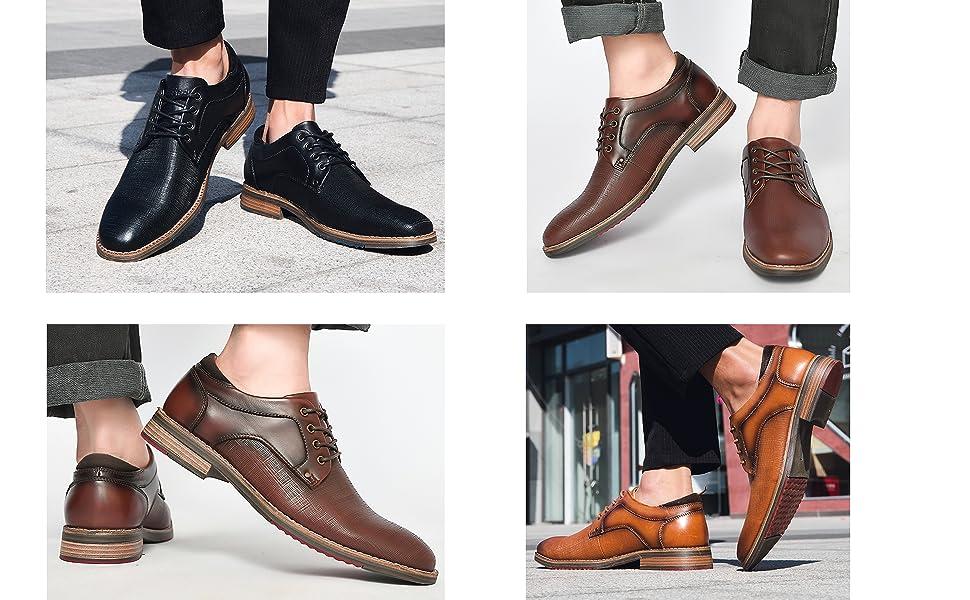Arkbird Men's leather dress shoes
