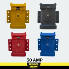 50 amp anderson connector cover by trailer vision blue yellow black red