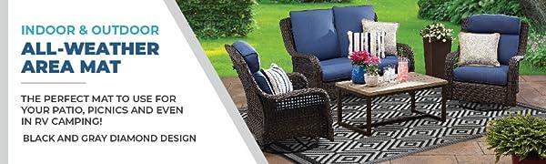 outdoor patio rug waterproof