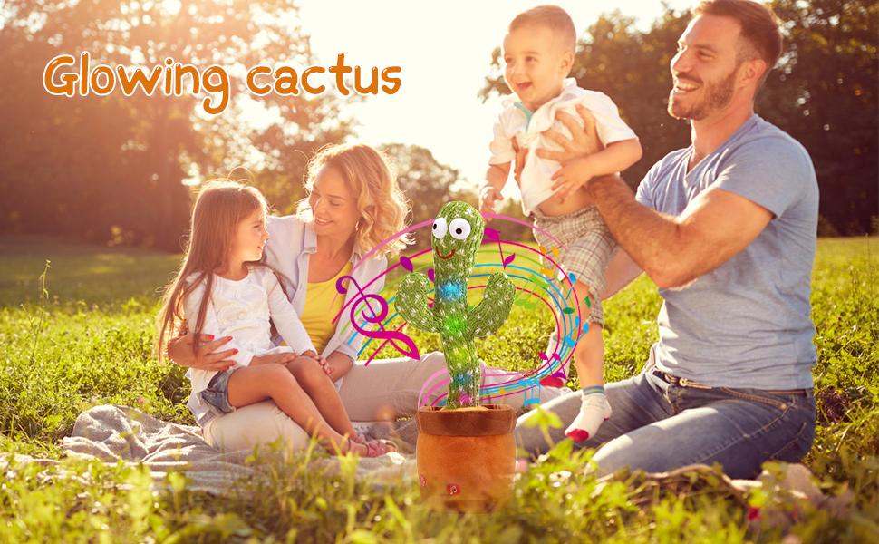repeating dancing cactus
