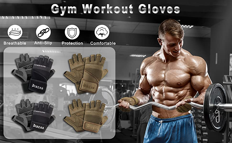 gym workout gloves