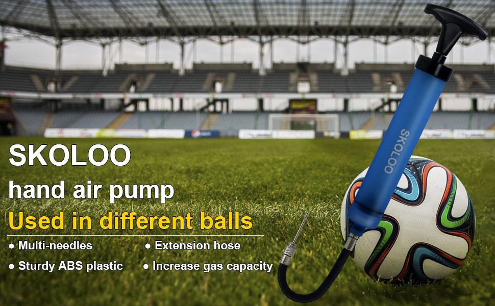 Details about  /Portable Small Basketball Hose Holder Hand Football Soccer Lightweight Ball Pump