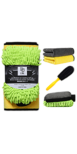 Vehicle quick cleaning kit