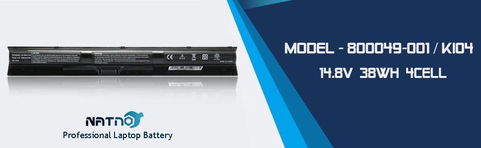 hp laptop battery ki04