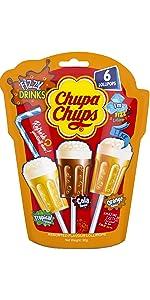 Chupa Chups Fizzy Drinks Lollipops