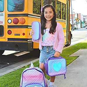 pencil case backpack lunch box