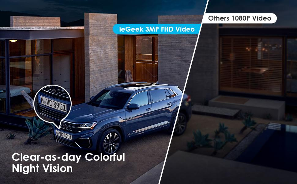 outdoor security camera wireless with colorful night vision