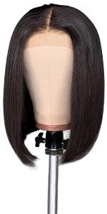 Bob lace front wigs