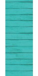 Turquoise Wood Bulletin Board Border