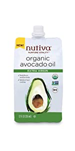 Avocado Oil Extra Virgin 12 Fl Oz Flexible Spouted Pouch