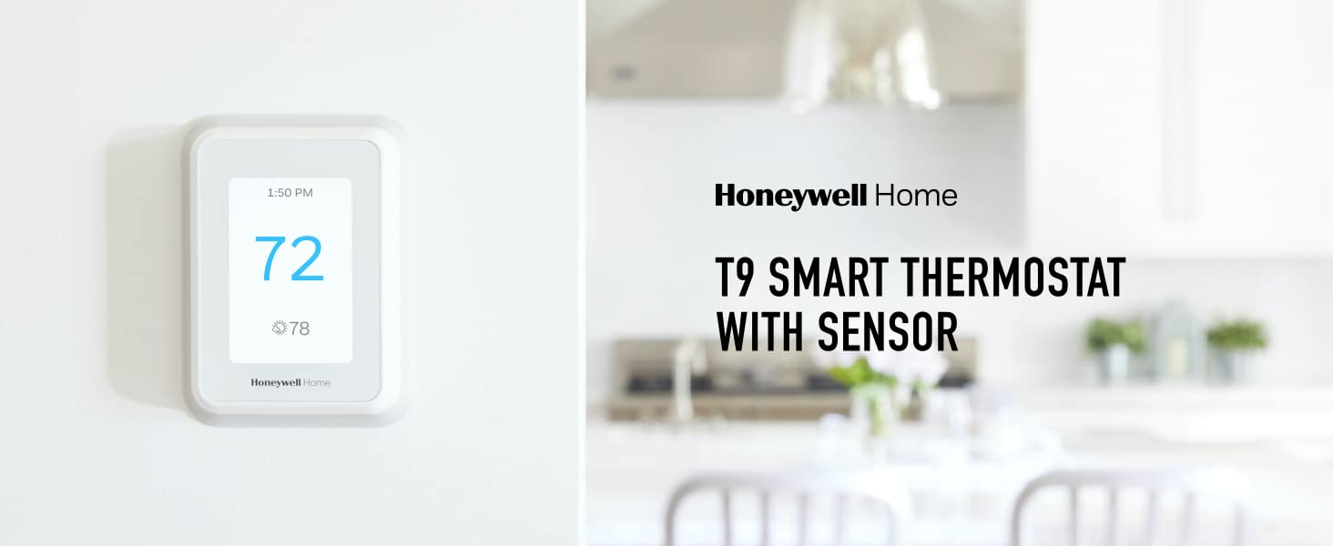 Honeywell Home T9 Smart Thermostat with Sensor