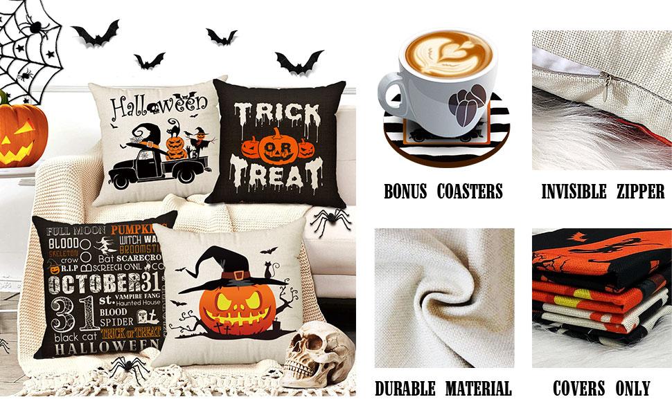 pillow cover halloween