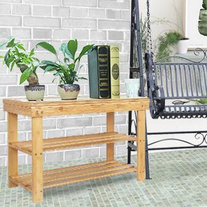 Storage shelves for plants