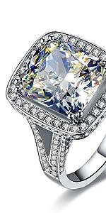 8 carat engagement ring