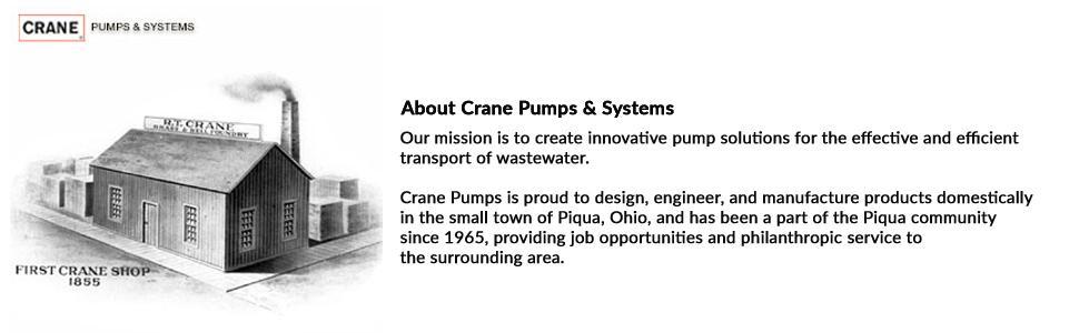 Crane Pumps About Us