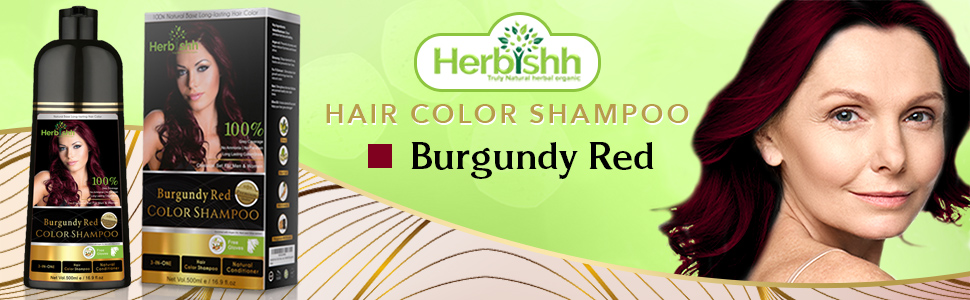 burgundy red shampo colour darkening women coloring dying temp parabens tinte cebello pelo champu