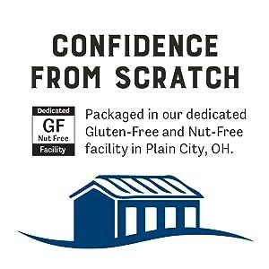 judees gluten free nut free facility