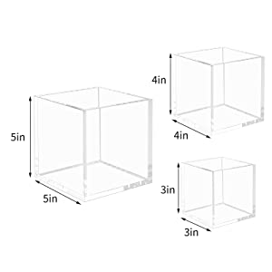 Clear Display Cube Case