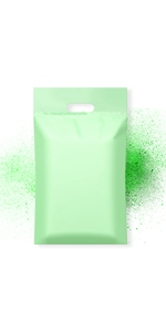 Famagic poly mailers with handle 10x13 inch shipping bags