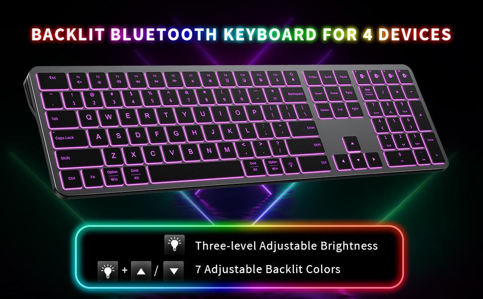 backlit bluetooth keyboard