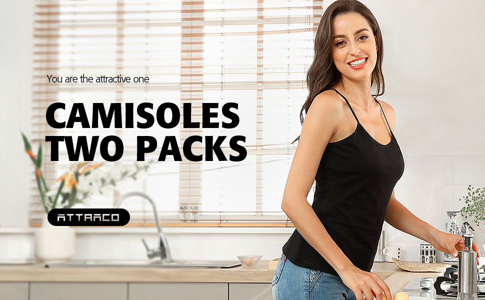 two packs Camisoles