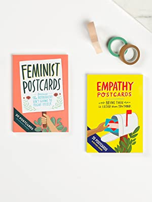 Em amp; Friends Cute Postcards: Feminist Postcards and Empathy Cards