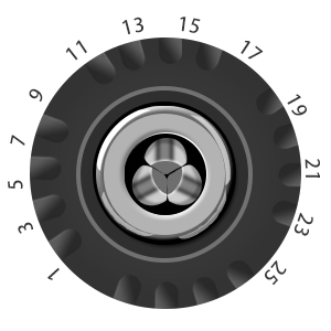 24+1 clutch transmission
