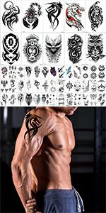 Temporary tattoos men